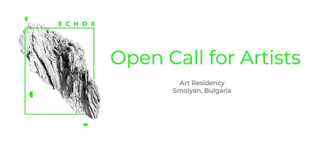 Echo Ii Open Call For Artists Smolayn Bulgaria 1024x493